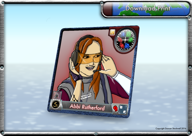 TideBreakers Abbi Card