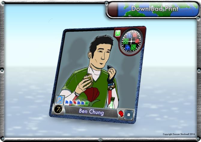 TideBreakers Ben Chung Card