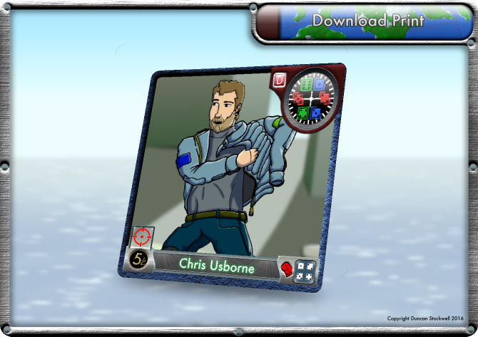 Chris TideBreakers Card