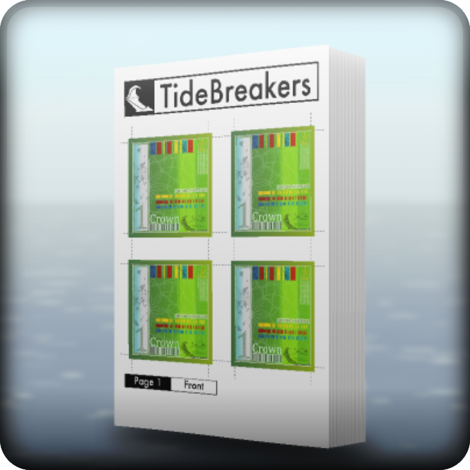TideBreakers Print Book 2 (Money)