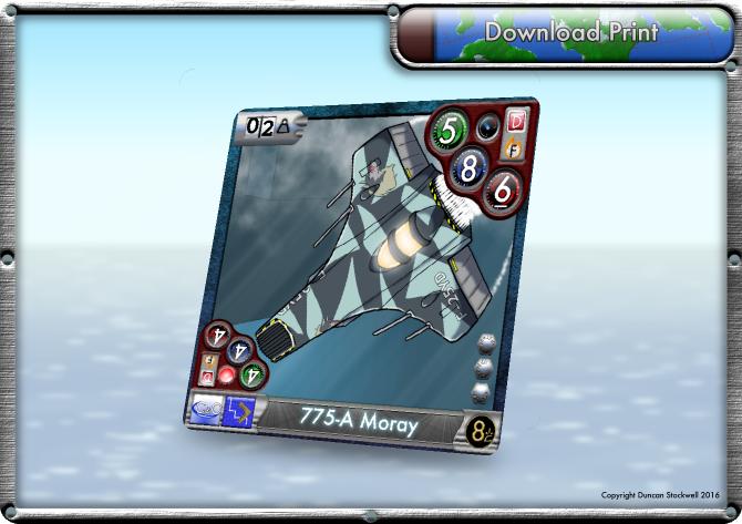 TideBreakers Moray sub