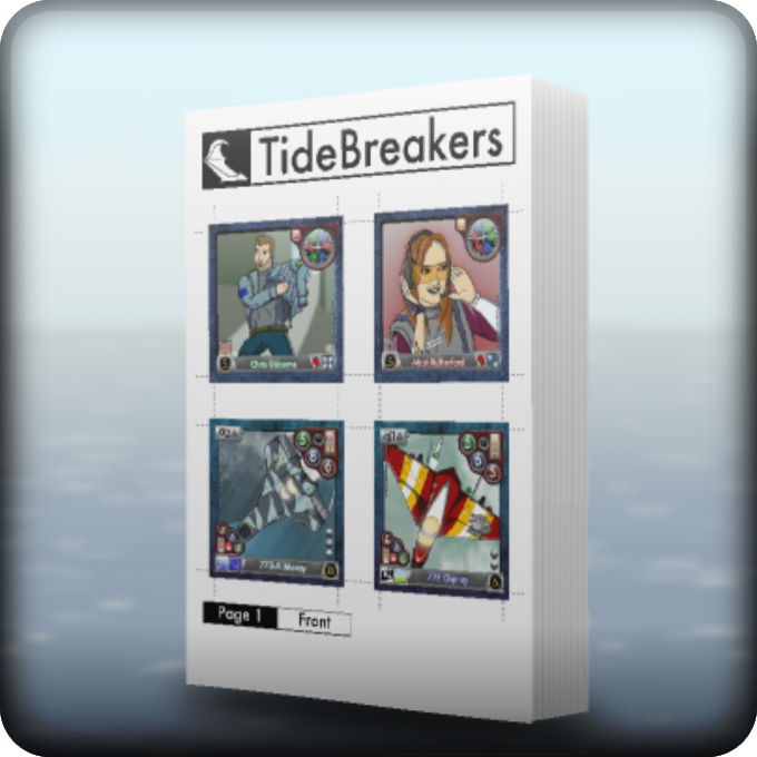 TideBreakers Print Book 1