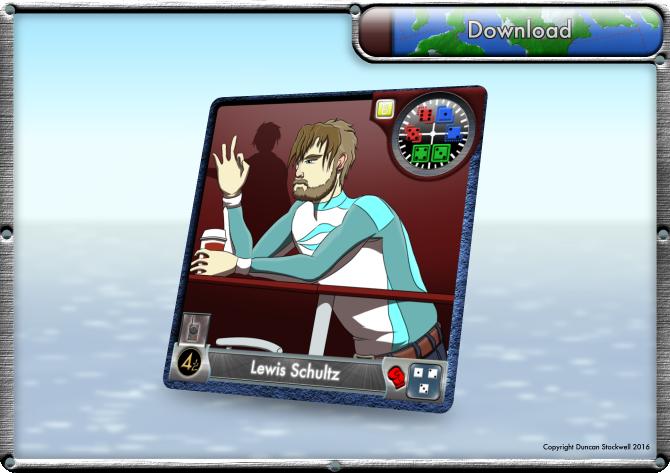 TideBreakers Lewis Schultz Card