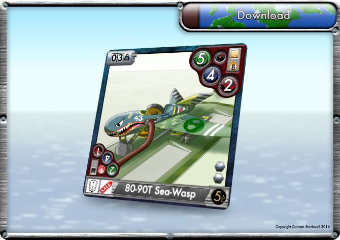 TideBreakers Sea-Wasp Sub Card