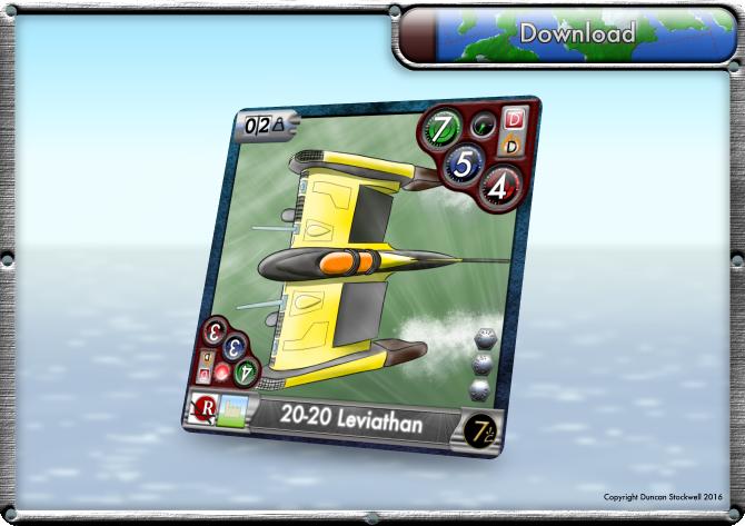 TideBreakers Leviathan Sub Card